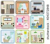 interior   room | Shutterstock .eps vector #404372848