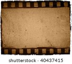 great film strip for textures...   Shutterstock . vector #40437415