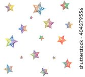 colorful stars background stock ... | Shutterstock .eps vector #404379556