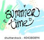 summer watercolor design....   Shutterstock .eps vector #404380894