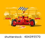 sport car in race | Shutterstock .eps vector #404395570