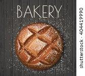 vector bakery banner wit rye...   Shutterstock .eps vector #404419990
