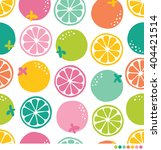 seamless pattern of colorful... | Shutterstock .eps vector #404421514