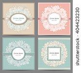 elegant vintage background with ... | Shutterstock .eps vector #404423230