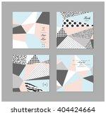 set of  creative universal... | Shutterstock .eps vector #404424664