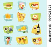 vector food design | Shutterstock .eps vector #404425528
