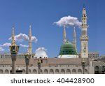 exterior view of minarets and... | Shutterstock . vector #404428900