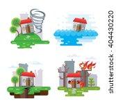 house insurance business... | Shutterstock .eps vector #404430220