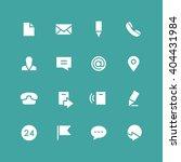 invert contacts vector icon set.... | Shutterstock .eps vector #404431984