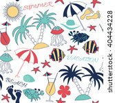 summer fun patterns. use for... | Shutterstock .eps vector #404434228