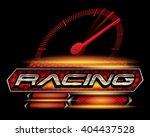 racing sport concept for logo... | Shutterstock .eps vector #404437528