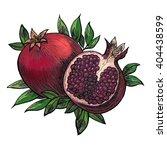hand drawn ink artwork of a... | Shutterstock . vector #404438599
