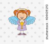 cute angel design  | Shutterstock .eps vector #404439193