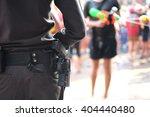 street photo concept  police... | Shutterstock . vector #404440480