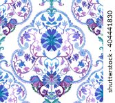 watercolor paisley seamless... | Shutterstock .eps vector #404441830