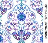 watercolor paisley seamless...   Shutterstock .eps vector #404441830