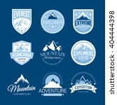mountain logos | Shutterstock .eps vector #404444398