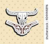 wild west icon  design  | Shutterstock .eps vector #404444896