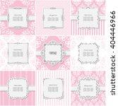 elegant frame set on different... | Shutterstock .eps vector #404446966