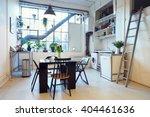 open plan living area in modern ... | Shutterstock . vector #404461636