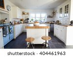 kitchen in contemporary family... | Shutterstock . vector #404461963