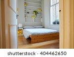 bedroom area in modern stylish... | Shutterstock . vector #404462650
