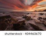sea sunset in alicante   Shutterstock . vector #404463670
