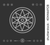 set of minimal geometric shapes.... | Shutterstock .eps vector #404466928