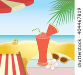 illustration of summer drink ... | Shutterstock .eps vector #404467819