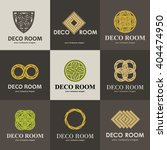 a collection of logos for... | Shutterstock .eps vector #404474950