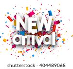 New Arrival Paper Card With...
