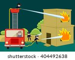 Fire Brigade Team Trying To...