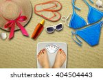 preparing for the vacation  ... | Shutterstock . vector #404504443