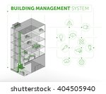 building management system... | Shutterstock .eps vector #404505940
