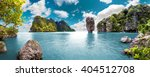 Постер, плакат: Scenery Thailand sea and