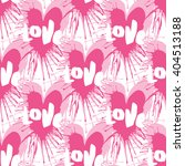 love seamless pattern with... | Shutterstock .eps vector #404513188