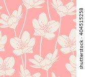 flowers seamless pattern. beige ... | Shutterstock .eps vector #404515258