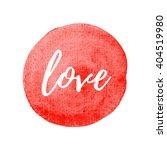 love vector icon  symbol ...   Shutterstock .eps vector #404519980