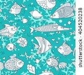 background underwater world.... | Shutterstock .eps vector #404520238