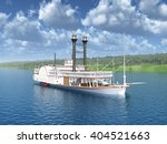 Steamboat Of The Mississippi...