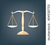 icon scale flat  balance symbol ... | Shutterstock .eps vector #404530753