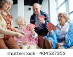 seniors at leisure | Shutterstock . vector #404537353