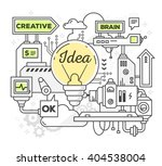 vector illustration of creative ... | Shutterstock .eps vector #404538004