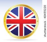 vector british flag | Shutterstock .eps vector #40455220