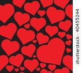 hearts | Shutterstock .eps vector #40455244