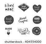 handmade  crafts workshop  made ...   Shutterstock .eps vector #404554000