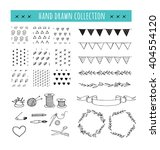 handmade  crafts workshop icons ... | Shutterstock .eps vector #404554120
