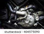 motorcycle engine  | Shutterstock . vector #404575090