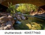 Fossil springs creek in Arizona.