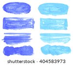 set of acrylic stains. spots on ... | Shutterstock . vector #404583973
